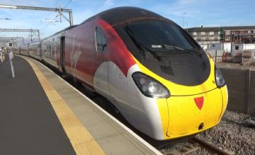 VT00. London (Euston) to Manchester Piccadilly via Crewe then Crewe to Blackpool North